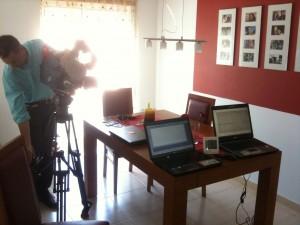 Filmagens para a rubrica Contas Poupança do Jornal da SIC