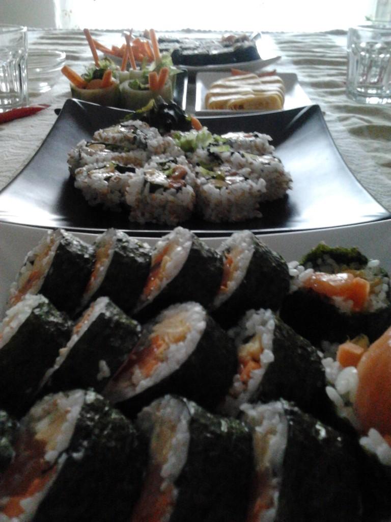 Mesa de Sushi por @designerferro