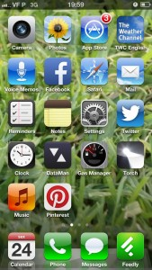 Home Screen do iPhone