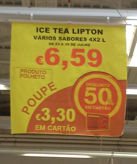Anúncio de Lipton Ice Tea