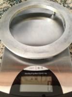 Balança com base a zero para pesagem da frigideira