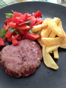 Hambúrguer inexplicavelmente saudável