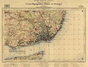 Carta 1:25000 de Lisboa de 1928