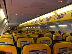 Cabine da Ryanair