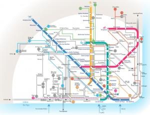Diagrama CARRIS Metro