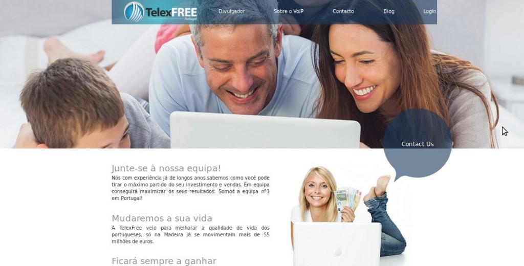 Site telexfree.pt em 2014-04-16