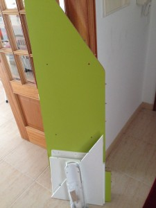 Tábuas do escorrega e arrumação Stuva do Ikea