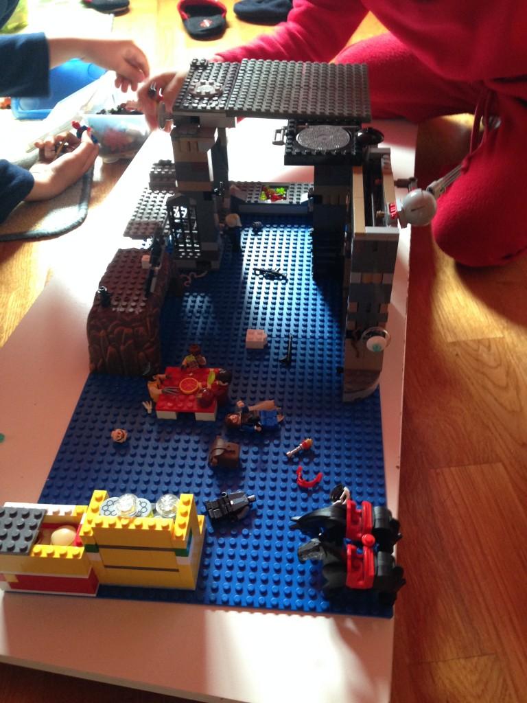 Plataforma com Lego