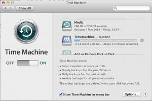 Time Capsule a funcionar no Raspberry Pi