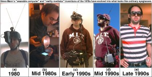 Wearable computer evolution