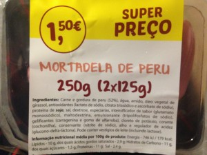Mortadela de perú
