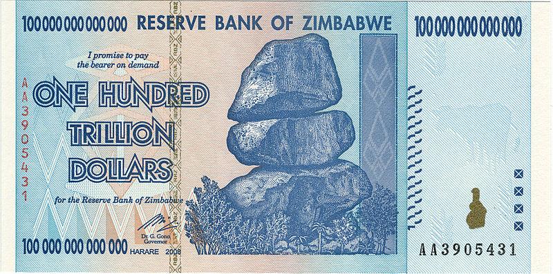 nota triliao zimbabwe