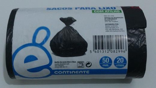 Sacos de lixo baratos