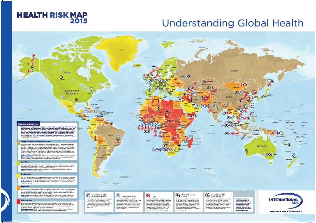 Health Risk Map