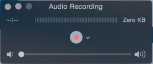 Gravar o som do Mac