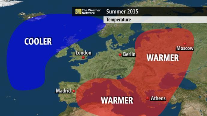 Previsão da Weather Network