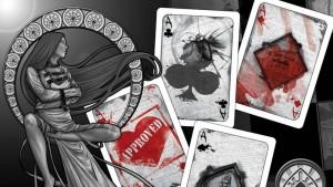 Asylum Playing Card