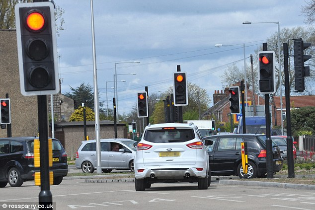 montes de semáforos