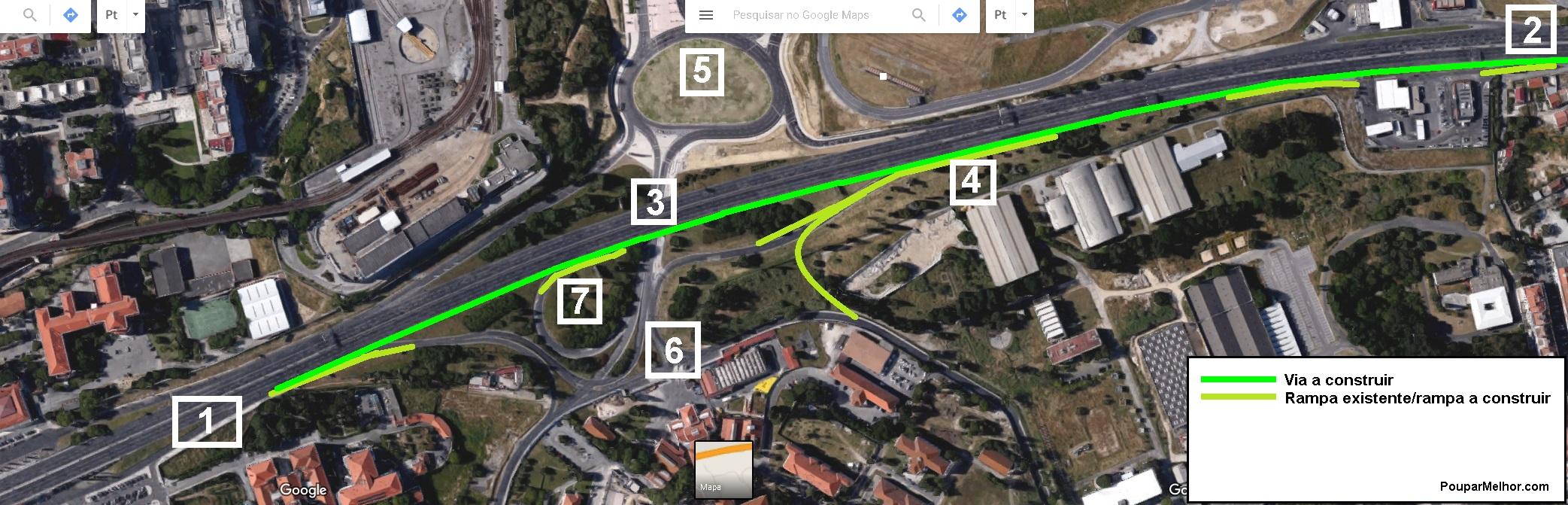 Proposta entre Campo Grande e Aeroporto (clique para ver melhor)