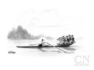 Rowing with to many coaches - Condé Naste