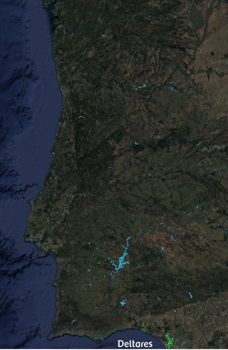 Mais e menos água em Portugal (1985-2015)